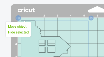 Cricut Design Space: showing how to move images onto the same mat