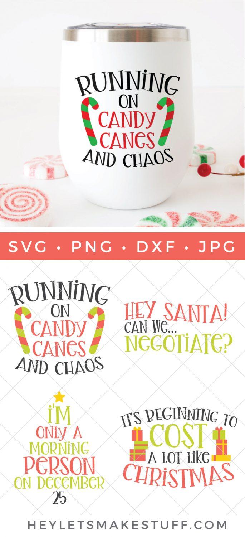 funny Christmas SVG bundle