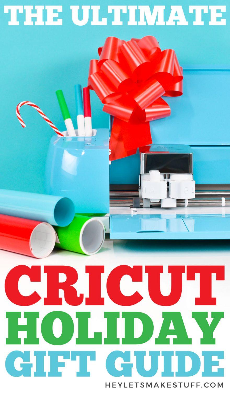Cricut Holiday Gift Guide pin image