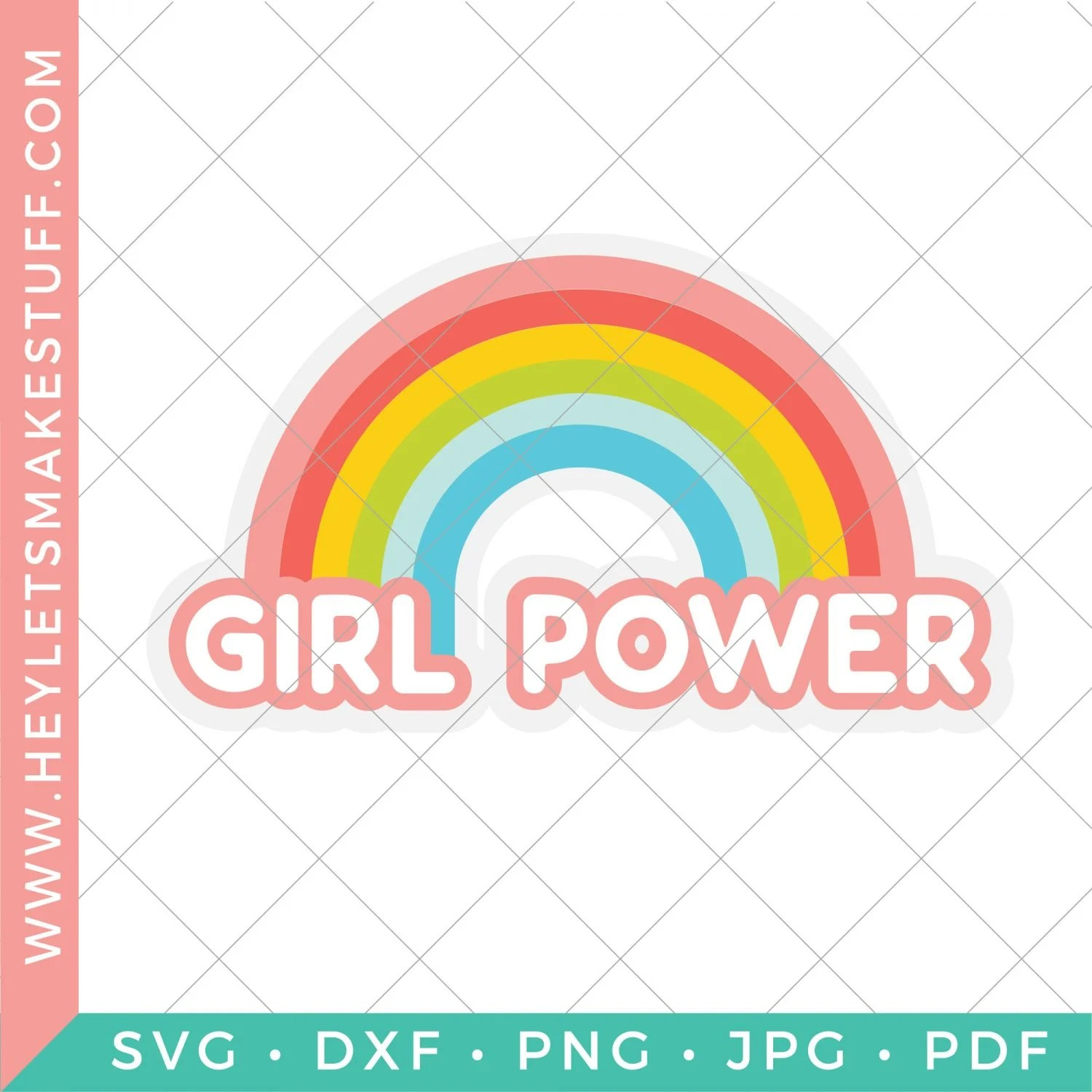 Girl Power security image for SVG