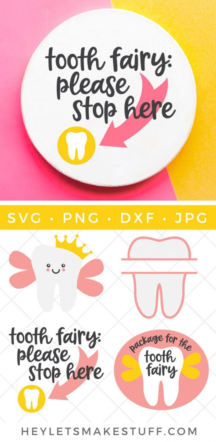 Tooth Fairy SVG Bundle pin image