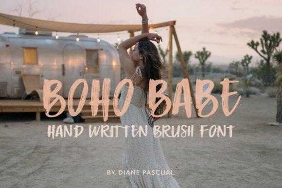 Boho Babe Font Image from Creative Fabrica