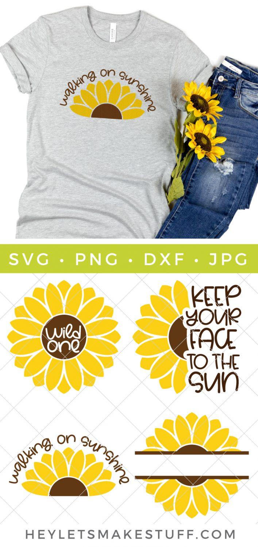 Sunflower Bundle SVG pin image