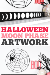 Moon Phase Artwork Pin #1