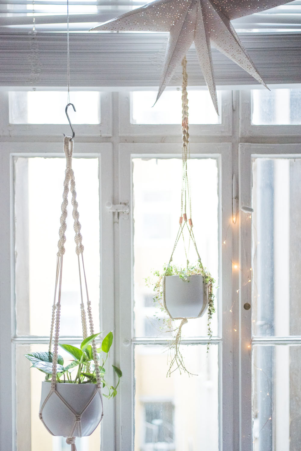 Simple Diy Macrame Necklace: Easy Home-DIY: Macrame Plant Hanger Tutorial