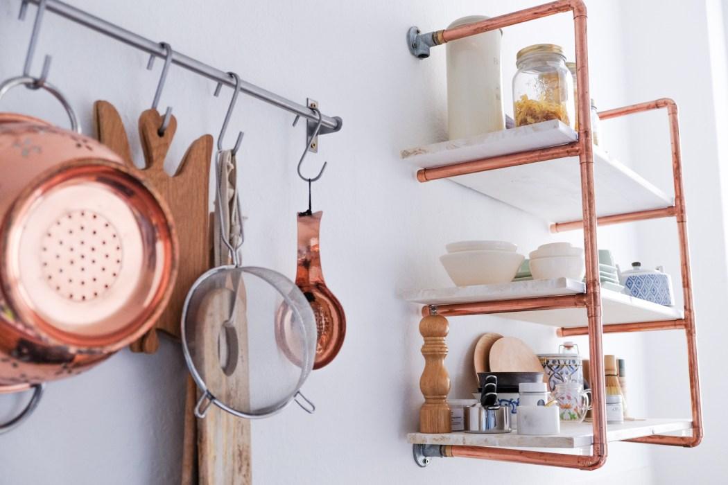 diy copper shelf (1 of 2)