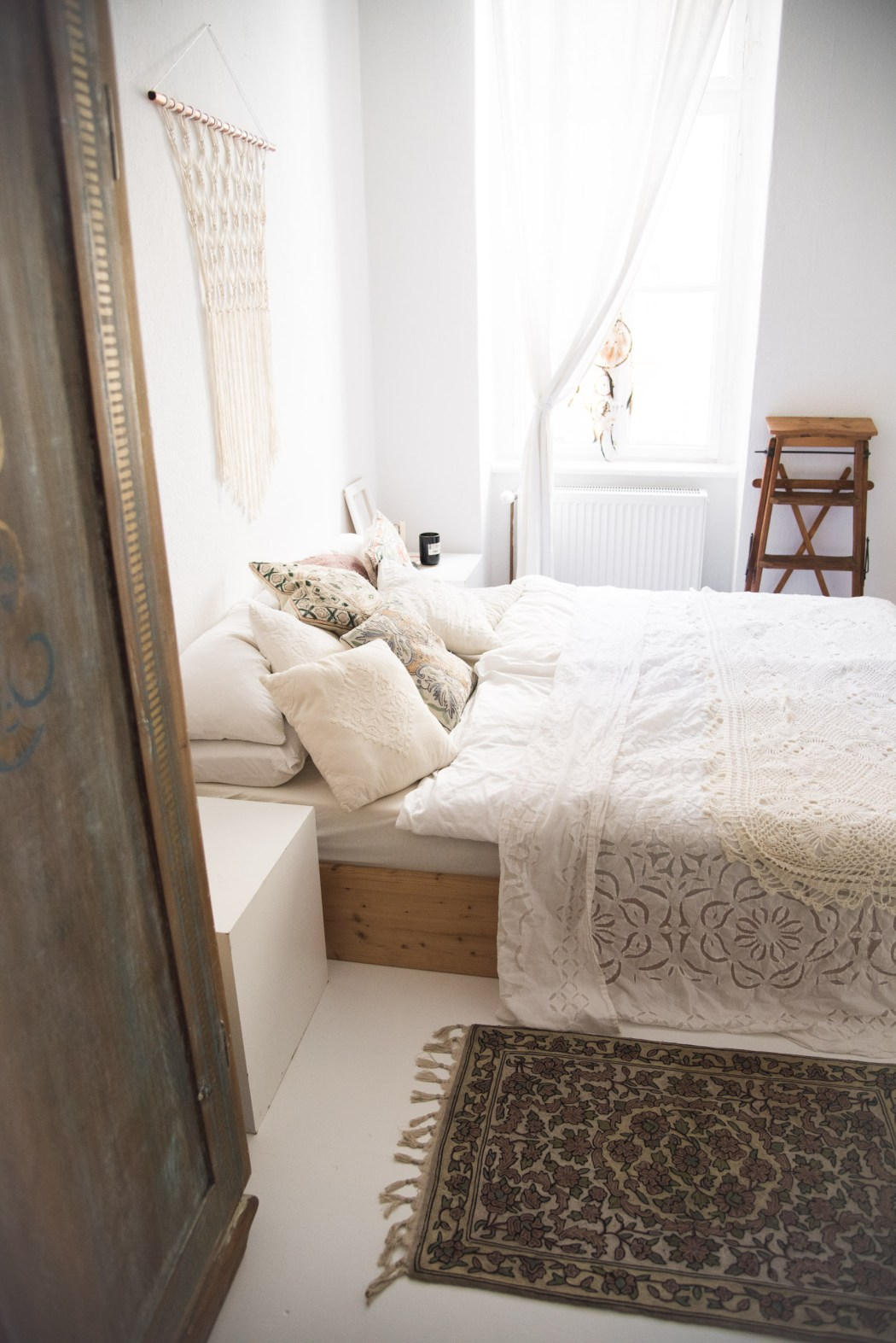 White Boho Bedroom 5