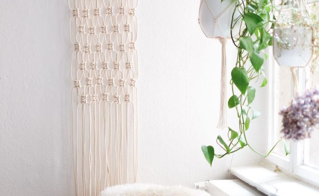 Interior Super Easy Diy Macrame Wall Hanging Tutorial