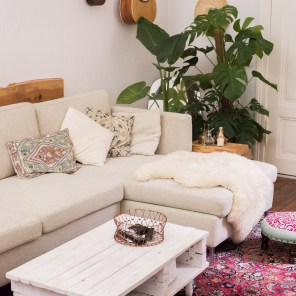 Boho Living Room Update: Our perfect sofa!