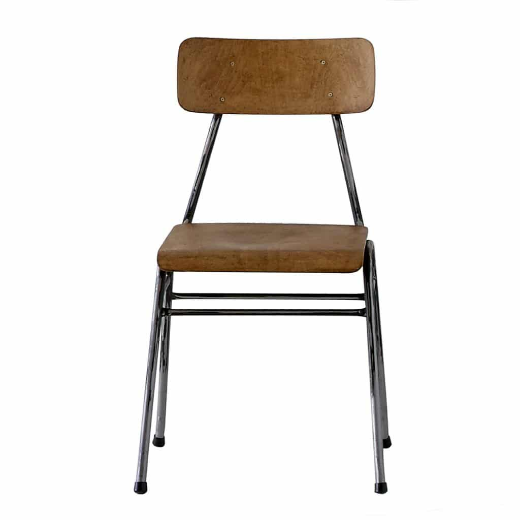 Vintage School Chairs Vintage Stacking School Chairs