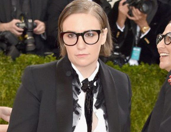 Lena Dunham, met gala, heylittlerebel.com, hey little rebel