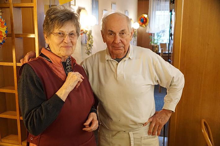 Herr und Frau Putz
