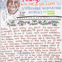 Learning the art of living: my experience with the 10 day silent Vipassana meditation retreat