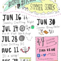 New summer series: Bicycle Bitchen Workshops