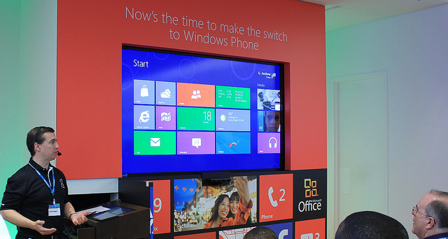 Windows 8 on the big screen!