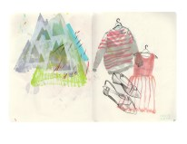 The Nave Sketchbook Show_PRINTS_sweaters and mtns