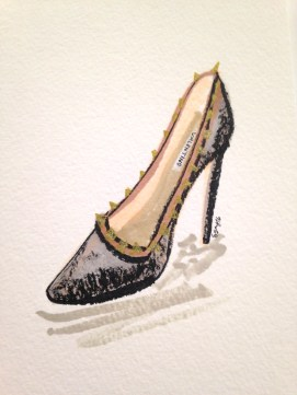 Sgay_Saks Fifth Ave HUNTINGTON_APRIL 2016_Illustrations_Valentino