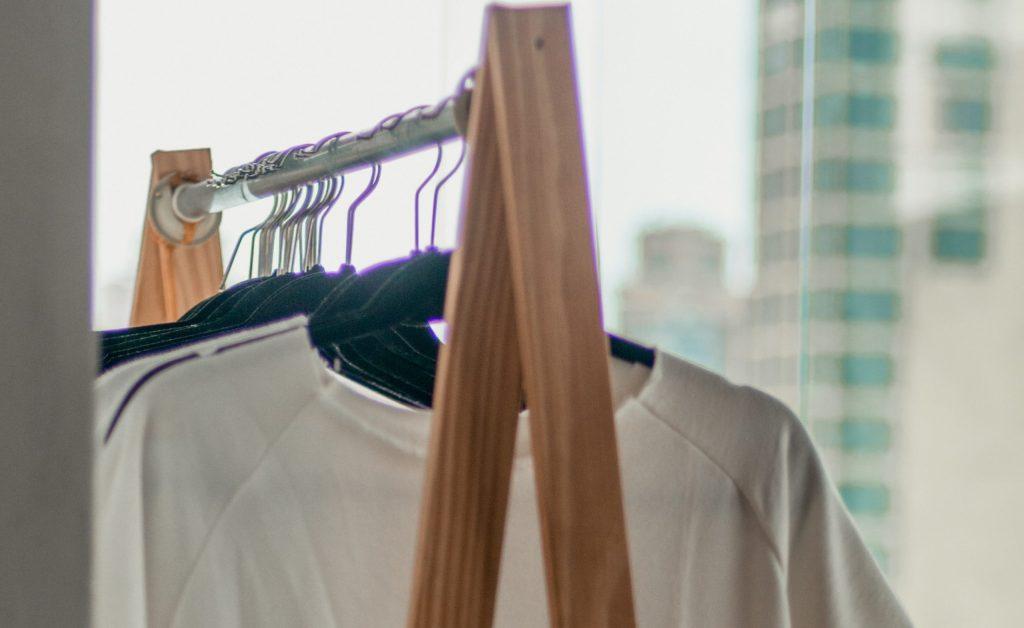 t-shirt rack