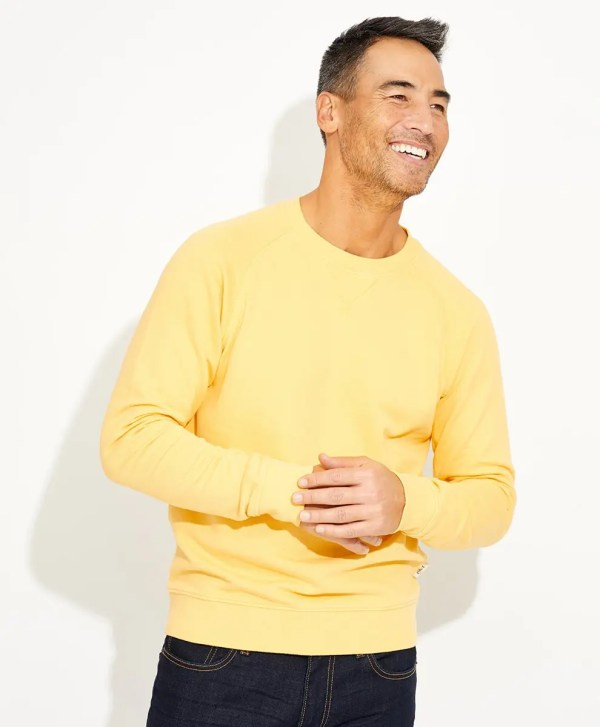 Men's Goldenrod Essential Sweatshirt M