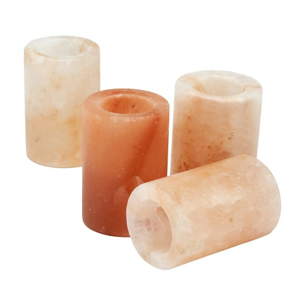 Set Of Four Salt Crystal Shot Glasses - Salt Crystal Drink Glass Set