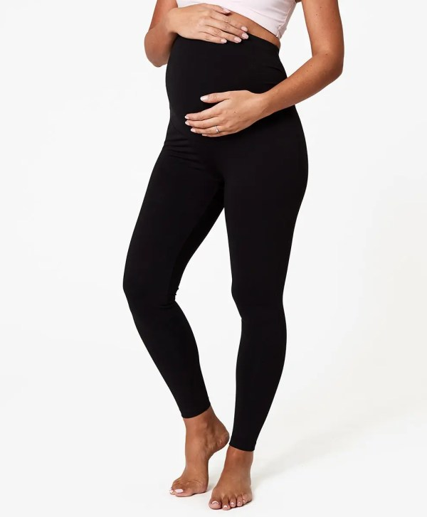 Women's Black Maternity Go-to Legging M