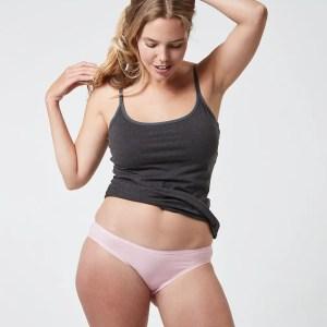 Women's Chalk Pink Classic Fit Bikini S