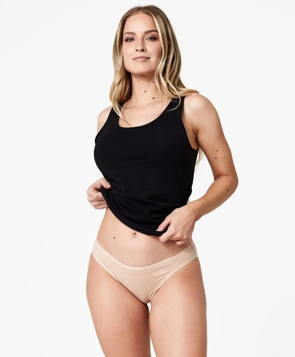Women's Champagne Classic Fit Bikini 2X