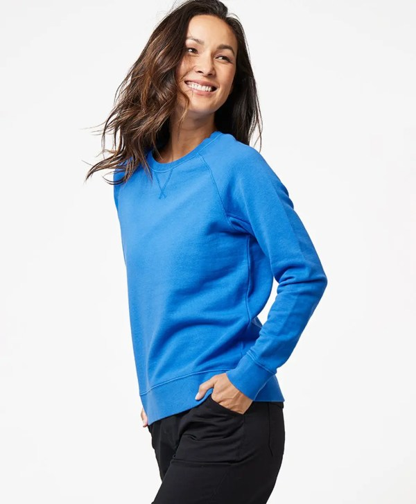Women's Cobalt Essential Sweatshirt S