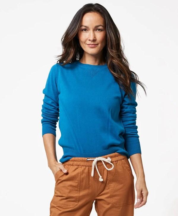 Women's Deep Ocean Sweater Sweatshirt XS
