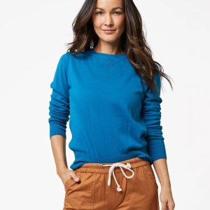Women's Deep Ocean Sweater Sweatshirt XS