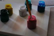 pincel tintas