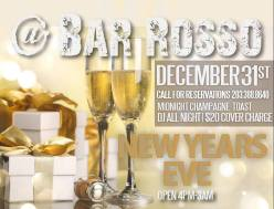 Bar Rosso NYE