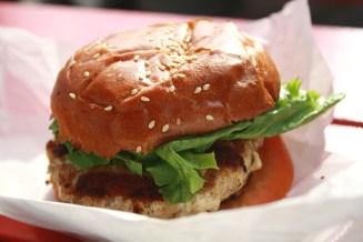 ahi burger