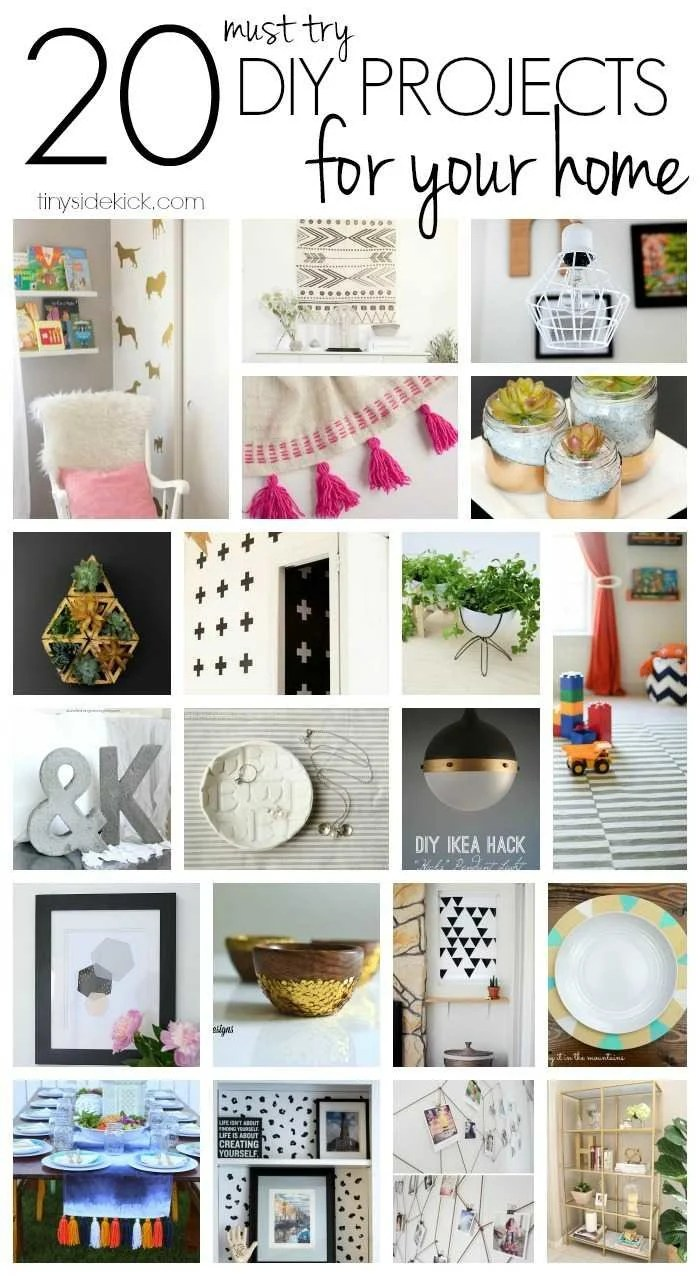 The Best Of The Makers 20 Must Try Diys For Your Home
