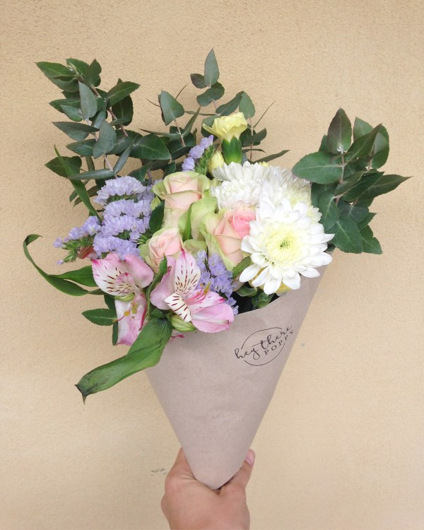 Fresh Flower Daily Posy Pastels