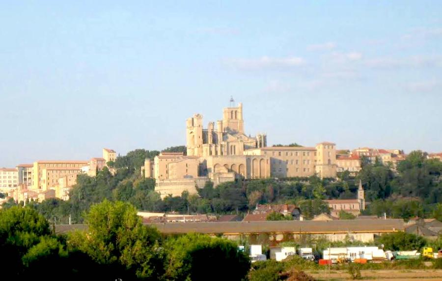 Beziers, a small town in the south of France