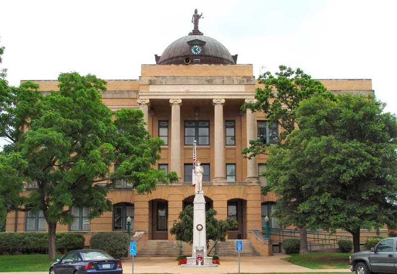 Williamson County Courthouse in Georgetown, Texas