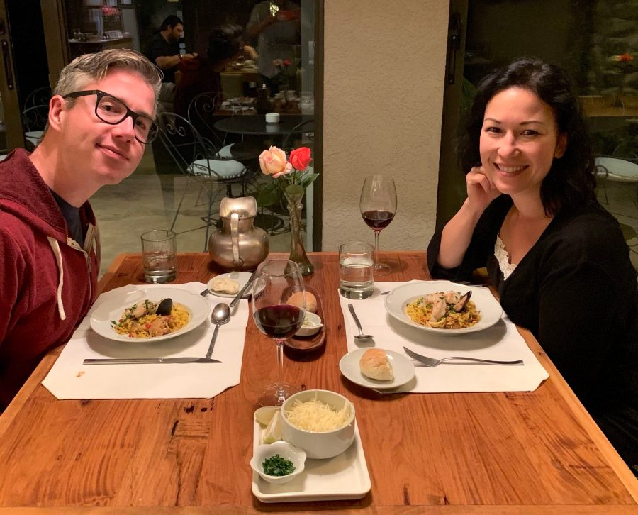 Dinner at Finca la Azul in the Uco Valley