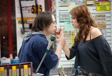 Kieran Culkin and Emma Stone in Movie 43