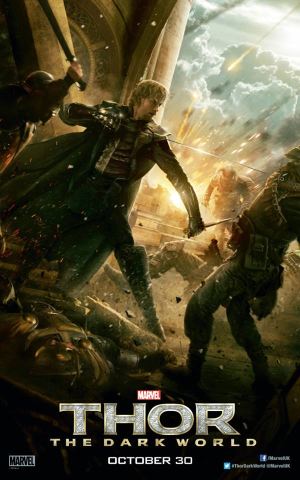 Thor The Dark World Game : world, Thor:, World, Character, Posters, Fandral, Volstagg