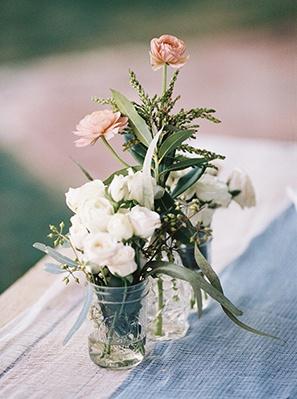 Slate Blue and Dusty Rose Wedding Ideas  Hey Wedding Lady