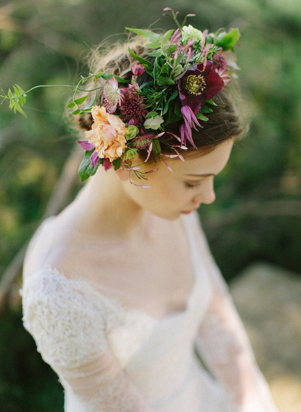 Rich And Moody Spring Florals For A Vintage Bride Hey