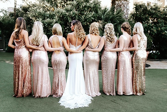 5 Sequin Bridesmaid Dresses For Any Wedding