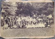 History Mystery Photo #3 The Heyworth Public Library holds in it's archive this picture of a group photo from the Adrian School of Randolph Township from May 1895. Sam Sutter of Heyworth donated this to our archives this past December 2013. He knows that his grandpa is in this group picture. We are looking to identify other individuals in this picture to further document the information. This picture will be on display at the library for anyone to come in and get a better look. We would love to have more information about who is in this picture and why it was taken?