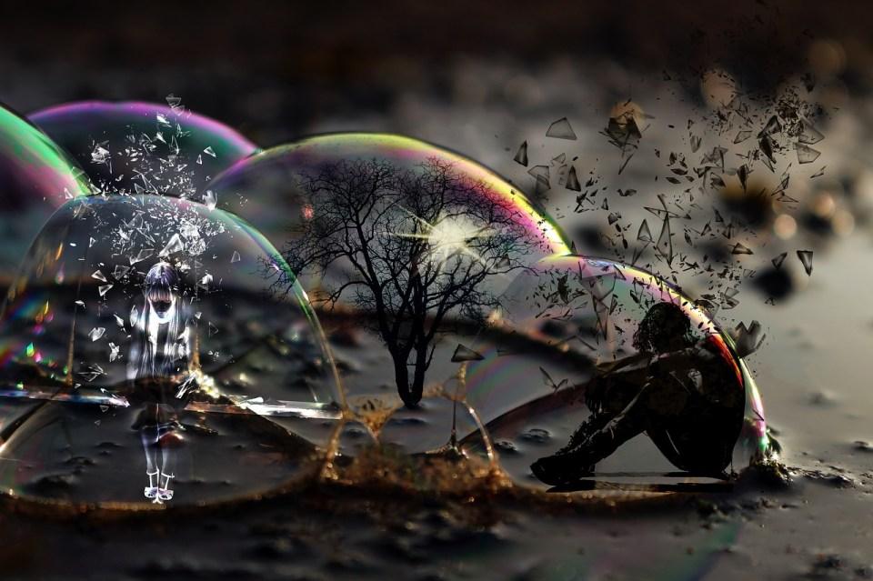 Je me suis créée une bulle dans laquelle je n'arrive plus à faire entrer personne.