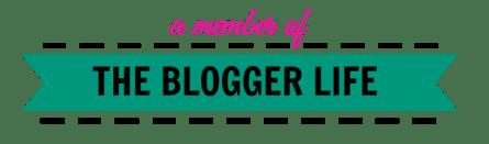 The Blogger Life Button