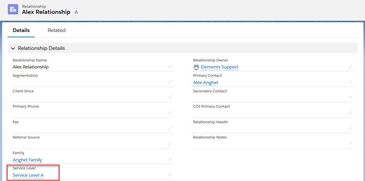 InTouch, Element's Client Interaction Service Module