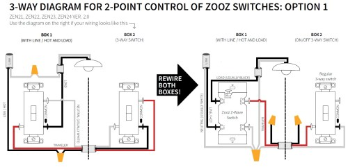 small resolution of this option can have a few variations depending on the creativity of the electrician who first wired the 3 way contact us if you can t match the diagrams