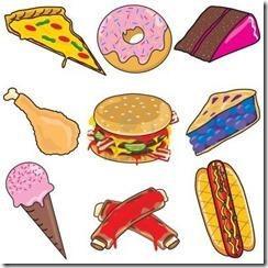 6919449-elementi-clipart-junk-food-e-icone
