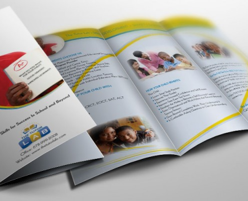 try fold brochure graphic design services